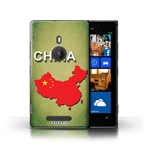 Coque de Stuff4 / Coque pour Nokia Lumia 925 / Ecosse/écossaise Design / Drapeau Pays Collection Chine/Chinois