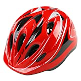 WZFC Fahrradhelm 2018 Specialized Kinder Fahrrad Helm, 49-59 cm (3~12 Jahre Alt),Red