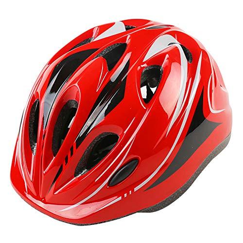 WZFC Fahrradhelm 2018 Specialized Kinder Fahrrad Helm, 49-59 cm (3~12 Jahre Alt),Red (Fahrrad Kind Helm Specialized)
