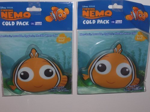 Cold-pack Set (Disney Finding Nemo Cold Pack (Sold as a set) by Disney)