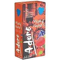 Pasante Adore Kondome mit Geschmack - 12 Kondome preisvergleich bei billige-tabletten.eu