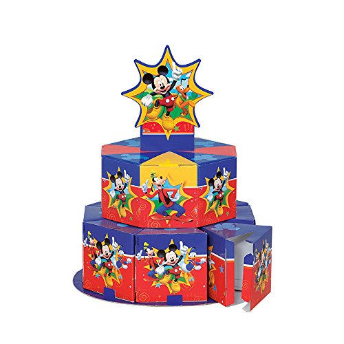 ((Centre Piece) - Mickey Mouse Clubhouse Favour Box Centrepiece Decoration for 8)