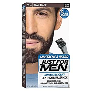 Just for Men Mustache & Beard Real Black M-55