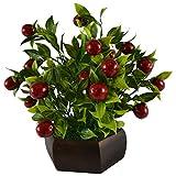 Thefancymart Artificial Bonzai fruit tre...