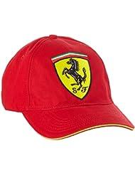 Ferrari Scudetto Shield CAP and CAP, Red, Raikkonen F1 Team, Vettel Formula 1