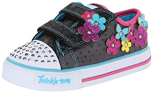 Skechers Shuffles Pretty Blossoms, Baskets mode fille