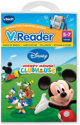 Vtech Learning & Educational Toys VTech V.Reader Software Mickey Mouse Clubhouse
