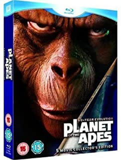 Planet of the Apes: 5-Movie Collector's Edition [Blu-ray] [1968] (B001GPTCE8) | Amazon price tracker / tracking, Amazon price history charts, Amazon price watches, Amazon price drop alerts