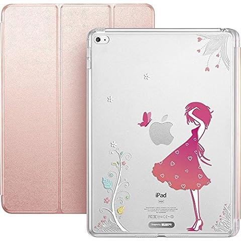 ESR Funda para Apple iPad Mini 4, La Muchacha en Flor