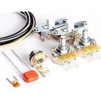 ToneShaper Kit de cableado para Fender Mustang (interruptores blancos)