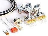 Toneshaper Kit di cavi per chitarra Fender Mustang (interruttori bianchi)