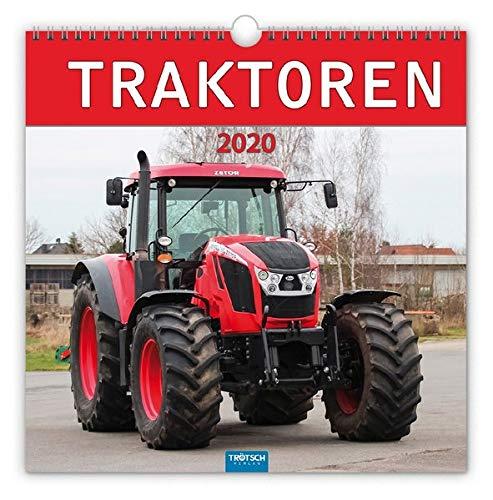 """Technikkalender """"Traktoren"""" 2020: 30 x 30 cm, mit Bildern von Udo Paulitz"""