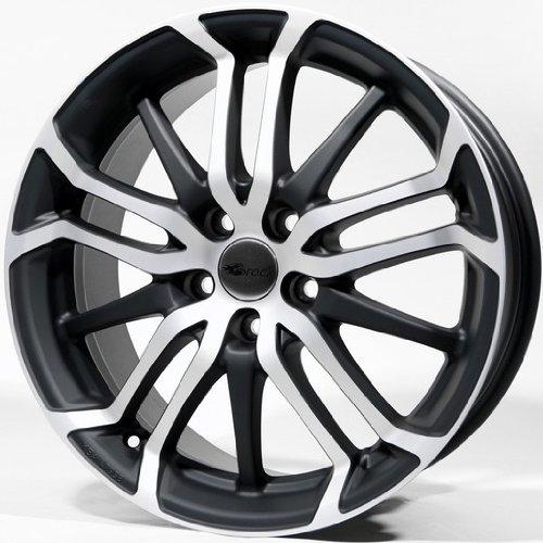Brock-B26-75-x-17-et-35-Bolt-Circle-4-x-100-Hub-centraggio-634-580070534-Nero-front-polished