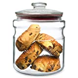 Kilner 2 Litre Push Lid Cookie Jar Glass