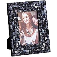 Portafotos de nácar Negro 10x15 Moderno para decoración Factory - LOLAhome