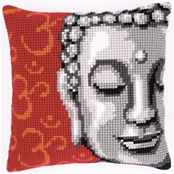 Vervaco ve-PN-0143700 - Cojín para Punto de Cruz, diseño de Buda