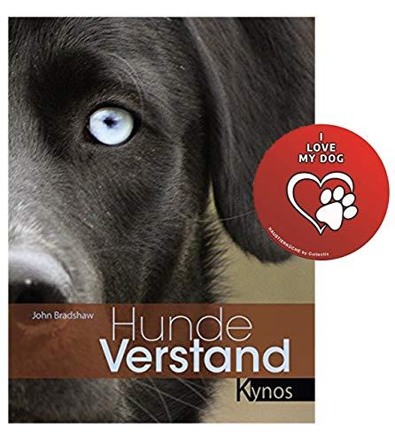 Hundeverstand Gebundenes Buch + I Love My Dog Sticker by Collectix