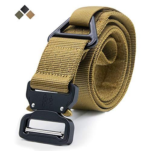 c754318c5 Cinturón táctico, estilo militar Correa ajustable de nylon para web Cinturón  resistente de los aparejos