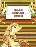Pangolin Composition Book: Back To School Gift Journal: This is a blank, lined journal that makes a perfect Back To School gift for Students. It's 8.5 ... pages, a convenient size to write things in.