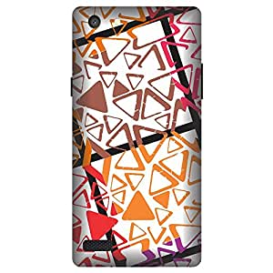 Digi Fashion Designer Back Cover with direct 3D sublimation printing for Oppo Neo 7