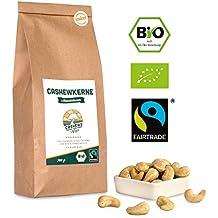 Bio Fairtrade Cashewkerne: Naturbelassen (700g) von der Elfenbeinküste