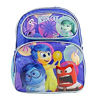 NUEVO Disney Inside Out Pequeño 12«infantil Escuela backpack-3698