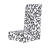 Imported Paddy Stretch Short Removable Dining Room Stool Chair Cover Slipcove...-53000263MG