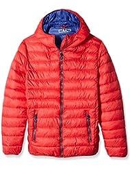 CMP–F. lli Campagnolo–Chaqueta de plumas para hombre, Otoño-invierno, hombre, color Rojo - Lacca-Olimpico, tamaño 54