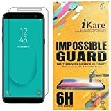 Sajni Creations Ikare Impossible Samsung Galaxy J6 Tempered Screen Guard , Strong Plastic Fibre Unbreakable Flexible Impossible Tempered Screen Guard Protector For Samsung Galaxy J6 - Transparent (does Not Cover The Edges)