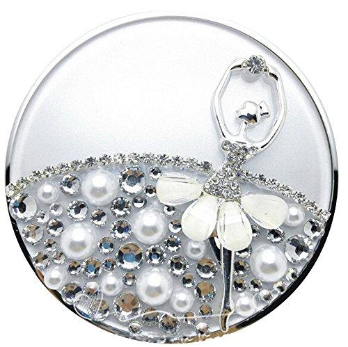 Coussin gonflable portable portable vide avec miroir [C]