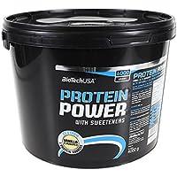 Biotech USA Protein Power Proteínas Sabor Vainilla - 4000 gr