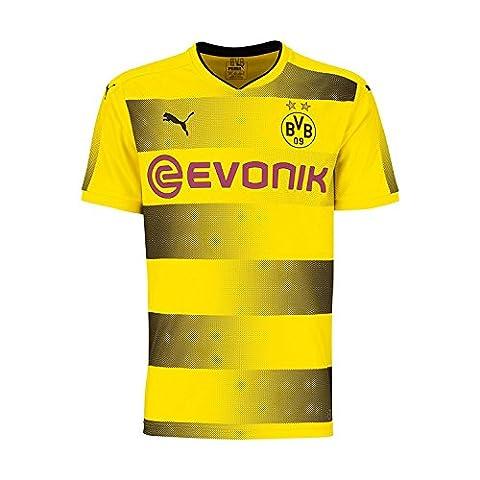 Puma BVB 09 Borussia Dortmund Home Trikot 17/18 (gelb/schwarz, XXL)