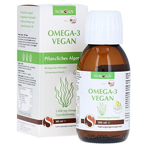 Norsan Omega-3 Algenöl Vegan Frisch 100ml  2.000mg Omega-3
