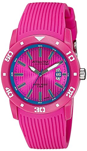 Q&Q Analog Pink Dial Men's Watch - DB02J006Y image