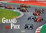 Grand Prix 2019: Wandkalender Din A3 . Bildkalender zum Thema Rennwagen.
