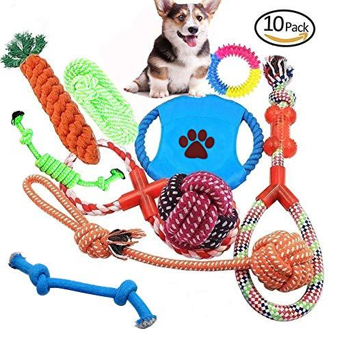 Ciaoed Hundespielzeug für Aggressive Hundekauen-Spielwarengeschenke Interessanter Hund wechselwirkendes Spielwaren für Kleine mittlere große - Extra Große Frisbee