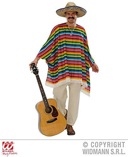 SET - PONCHO & SOMBRERO - (Kostüm Bandido)
