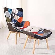 2491e8905a8d28 Designetsamaison Fauteuil scandinave Patchwork - Stockholm