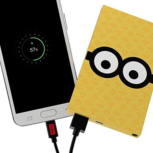 Tribe Minions ICH EINFACH UNVERBESSERLICH 4000mAh Powerbank Batterie, Externer Akku, Handy Ladegerät für Smartphone, Tablette, etc. - Tom