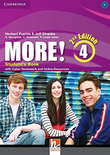 More! Level 4 Student's Book with Cyber Homework and Online Resources - 9781107640511