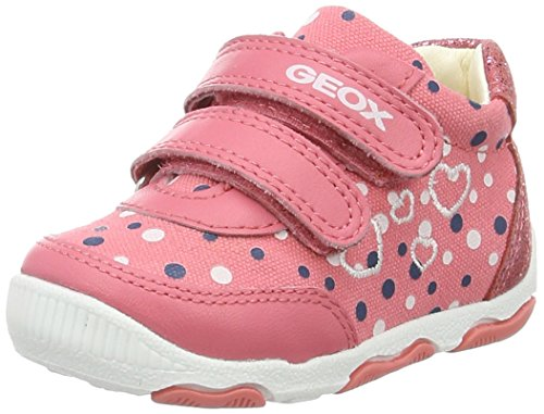 Geox B NEW Balu' Girl a, Botines de Senderismo para Bebés, Rojo...
