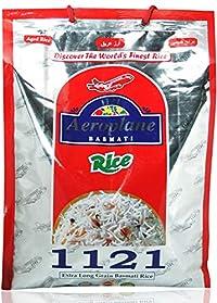 Aeroplane 1121 Steem Extra Long Grain Basmati Rice 5 Kg
