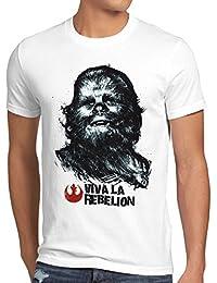 style3 Viva La Rebelion T-Shirt Herren rebellion guevara revolution