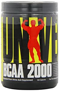 Universal Nutrition Bcaa 2000 - 120 Capsules