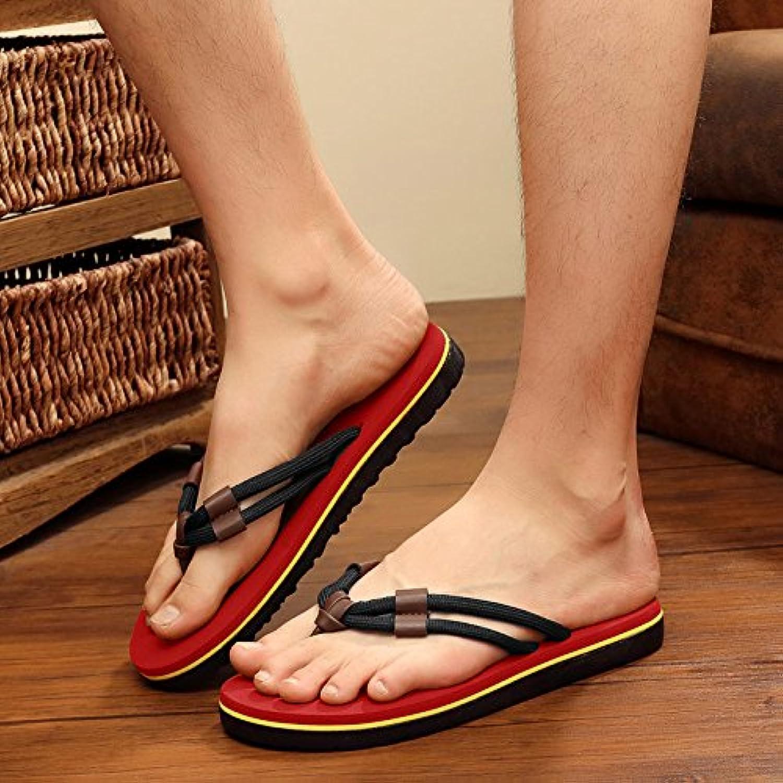 YMFIE Der Sommer Herren Sandalen Sandalen Sandalen Sandalen und Outdoor schleudern Füße
