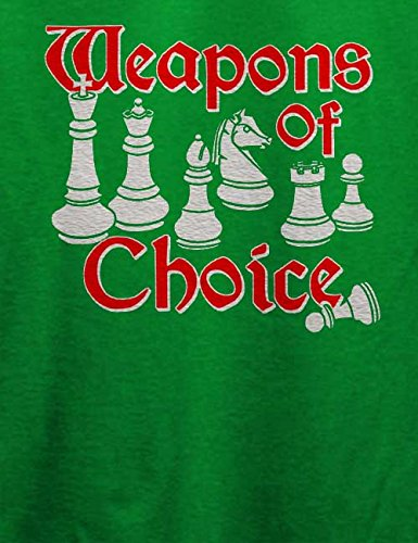 Weapons Of Choice Chess T-Shirt Grün