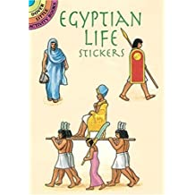 Egyptian Life Stickers by A. G. Smith (1997) Staple Bound