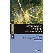 Siegfried: Der Ring des Nibelungen. WWV 86 C. Textbuch/Libretto. (Serie Musik)