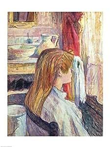 Henri de Toulouse-Lautrec – Femme à la fenêtre 1893 Impression d'art Print (45,72 x 60,96 cm)