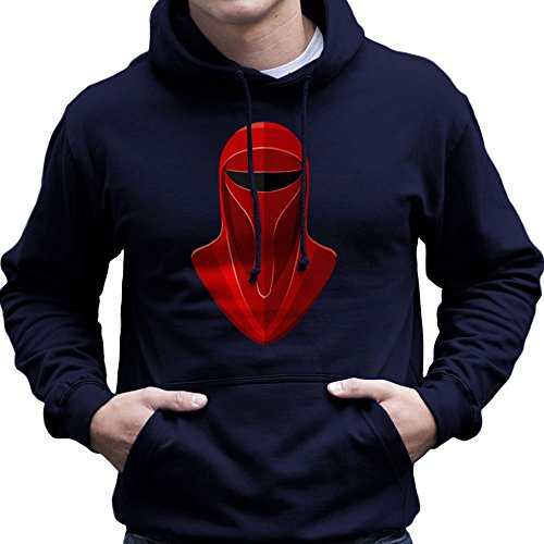 Star Wars Emperors Imperial Royal Guard Episode V The Empire Strikes Back Men's Hooded (Imperial Wars Guard Star)